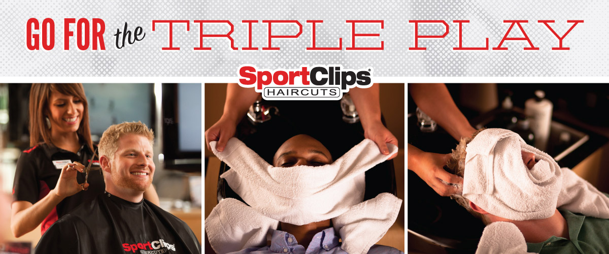 The Sport Clips Haircuts of Oakland - Copper Tree Mall  Triple Play